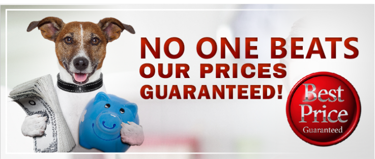 Lowest Price Guaranteed! Order Today